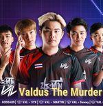 Sudah Ganas di Awal Tahun 2021, Valdus The Murder Akhirnya Berada di Puncak PMPL Thailand Season 3
