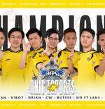 Lewat Laga Sengit, Onic Esports Rebut Gelar Juara MPL Indonesia Season 8