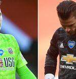 Manchester United Pusing, Harus Memilih Antara Dean Henderson atau David De Gea