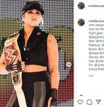 Setahun Tak Tampil, Ronda Rousey Menghina Kepalsuan WWE
