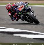 Hasil MotoGP Inggris 2021: Fabio Quartararo Menang Lagi, Aprilia Cetak Sejarah