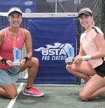 Terhadang Duo Non-Unggulan, Ambisi Aldila Sutjiadi Jadi Juara Ajang WTA Pupus