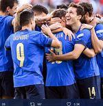 Hasil Italia vs Belgia: Menang 2-1, Gli Azzurri Raih Peringkat Ketiga UEFA Nations League 2021