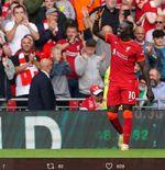 Hasil Liverpool vs Crystal Palace: Sadio Mane dan Mohamed Salah Catat Rekor, Bawa The Reds ke Puncak