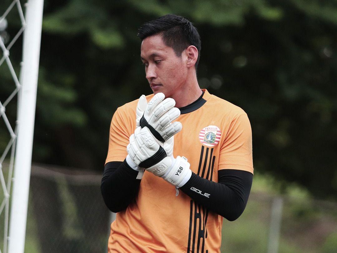 Yoewanto Stya Beny berlatih bersama Persija Jakarta, Maret 2021.