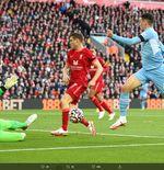 Hasil Liverpool vs Manchester City: Drama 4 Gol, The Reds Berbagi Angka dengan The Citizens