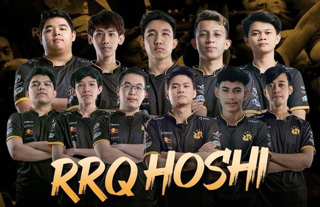 Full team RRQ Hoshi