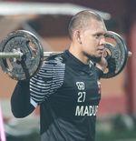 Kiper Madura United Jelaskan Alasannya Telat Ikut Pemusatan Latihan