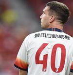 Penyerang Timnas Polandia di Euro 2020 Cetak Gol Ajaib untuk Nagoya Grampus di J1 League