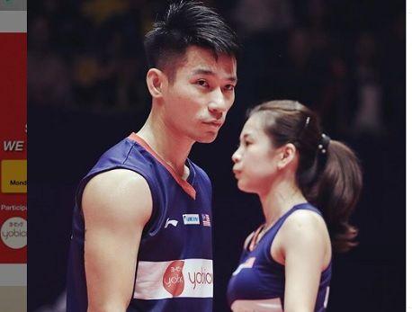 Foto unggahan Goh Liu Ying untuk mengucapkan selamat ulang tahun kepada partner bermainnya, Chan Peng Soon, dalam akun Instagram pribadinya pada 27 April 2020.