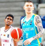 Hasil Kualifikasi Piala Asia FIBA 2021: Kazakhstan Libas Sri Lanka 111-52