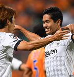 Eks Striker Newcastle United Akhirnya Cetak Gol Perdana untuk Vissel Kobe