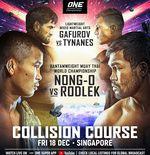 ONE Championship Bakal Suguhkan Dua Event Besar di Singapura pada Desember 2020