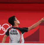 Olimpiade Tokyo 2020: Lewati Fase Grup, Anthony Sinisuka Ginting Bersyukur Tak Cedera