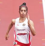 Olimpiade Tokyo 2020: Alvin Tehupeiory Petik Pelajaran dari Sprinter Top Dunia