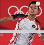 Hasil Bulu Tangkis Olimpiade Tokyo 2020: Anthony Sinisuka Ginting ke Babak 16 Besar