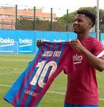 Sebelum Ansu Fati, Ini 10 Pemilik Nomor 10 di Barcelona