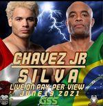 Julio Cesar Chavez Jr vs Anderson Silva Resmi Digelar di Atas Ring Tinju