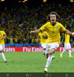 VIDEO: Tendangan Bebas Brilian David Luiz di Piala Dunia 2014