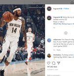 Baru 2 Musim, Brandon Ingram Jadi Pujaan Fan New Orleans Pelicans