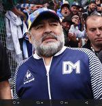 Cuma 2 Anak Diego Maradona yang Ucapkan Perpisahan di Media Sosial