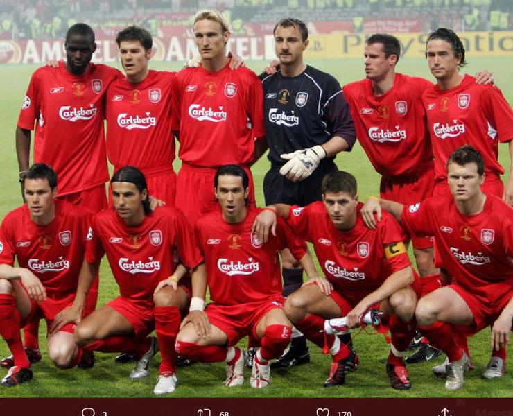 Usaha Bangkrut, Eks-Pemain Liverpool Jual Medali Juara Liga Champions