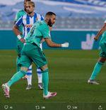 Karim Benzema, Pahlawan Real Madrid Jika Jadi Juara Liga Spanyol