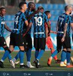 2 Formasi Inter Milan saat Bantai Lugano dalam Laga Uji Coba