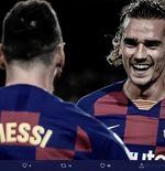 VIDEO: Gol Pertama Antoine Griezmann untuk Barcelona dalam Uji Coba lawan Napoli