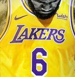 LeBron James Ganti Nomor Punggung