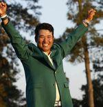 Pegolf Jepang Hideki Matsuyama Catat Sejarah Usai Juara Masters