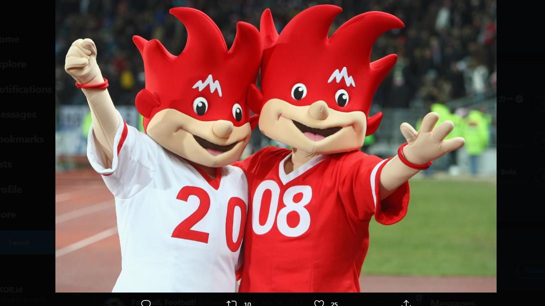 Maskot Piala Eropa 2008, Trix dan Flix.