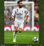 Dani Carvajal Cedera Lagi, Kanan Pertahanan Real Madrid Kembali Berlubang