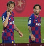 Enam Tahun di Barcelona, Ivan Rakitic Mengaku Tak Dekat dengan Lionel Messi