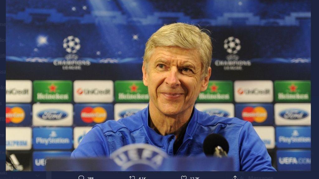 Mantan pelatih Arsenal, Arsene Wenger.