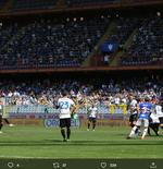 Gol Serba Kaki Kiri Sampdoria vs Inter Milan