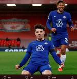 Cetak Gol Tunggal, Mason Mount Ungkap Kunci Kemenangan Chelsea atas Liverpool