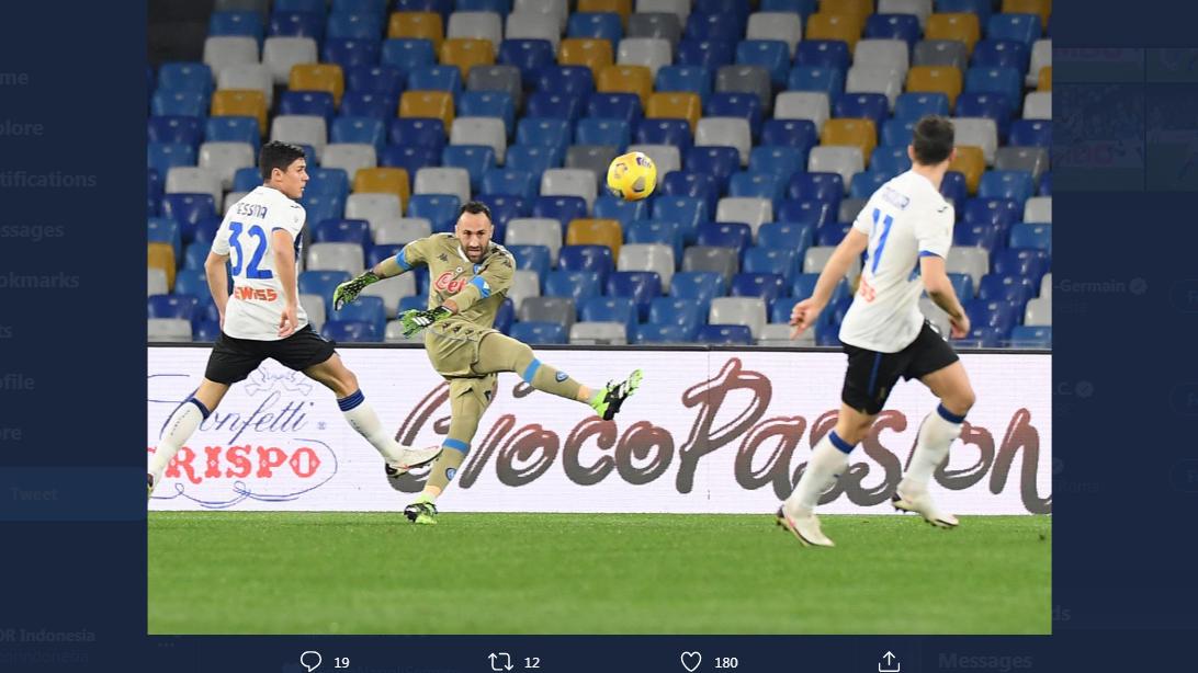 Hasil Napoli vs Atalanta: Selangkah Menuju Final Coppa Italia