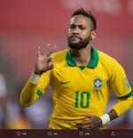 Catatan Golnya Dilewati, Ronaldo Beri Ucapan Selamat kepada Neymar