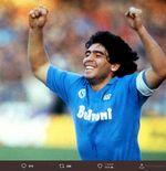 Ketika Diego Maradona Menyihir Satu Tim Jerman Hanya dengan Pemanasan