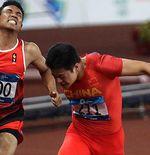 Asah Kecepatan Sprint, Lalu Muhammad Zohri Latihan di Pantai Tiga Kali Sepekan