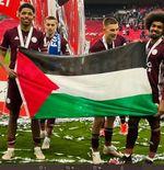 Juara Piala FA, Pemain Leicester City Bentangkan Bendera Palestina