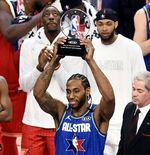NBA All-Star 2020: Kawhi Leonard Raih Kobe Bryant MVP Award 2020