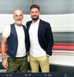 Punya Sejarah Besar di Eropa Jadi Alasan Olivier Giroud Pilih AC Milan