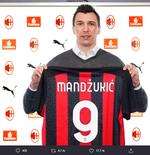 Mario Mandzukic Tidak Peduli Kenakan Nomor Punggung Kutukan di AC Milan
