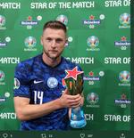 Man of the Match Piala Eropa 2020 - Polandia vs Slowakia: Milan Skriniar
