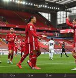 Pelatih Liverpool Optimistis Virgil van Dijk Segera Pulih