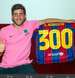 VIDEO: Sergi Roberto. Pemilik 300 Laga untuk Barcelona