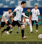 Hasil Bolivia vs Argentina di Copa America 2021: Menang, Tim Tango Juarai Grup A dan Lolos ke 8 Besar