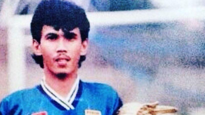 Kekey Zakaria, penyerang Persib saat menjuarai Liga Indonesia 1994-1995.